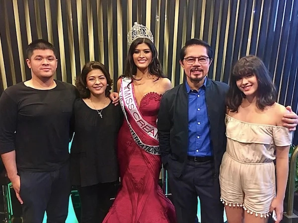 Christopher de Leon gets emotional when daughter won Miss International Philippines 2017