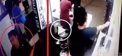 Ang lakas ng loob! Sneaky Pasay City thief caught on camera stealing expensive gadget in plain sight