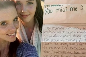 Mum found this daughter's hearttouching letter after her death