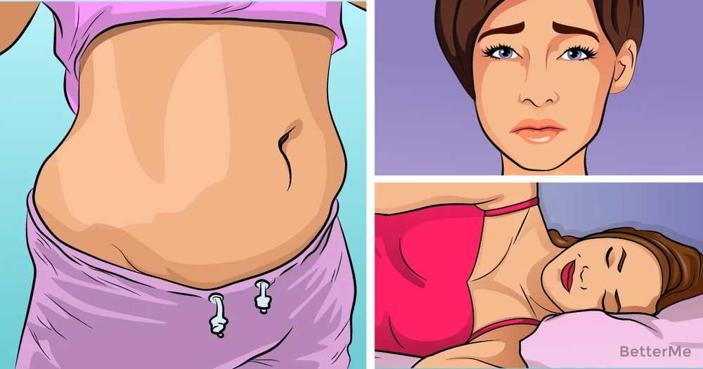 5 reasons why you're gaining weight on belly