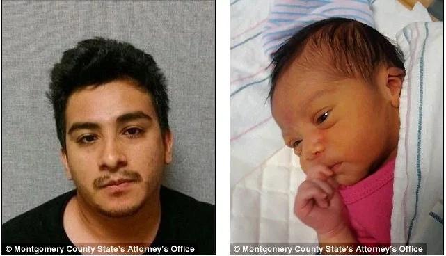 Este padre abusó sexualmente de su hija de 10 semanas y la mató dejándola caer varias veces