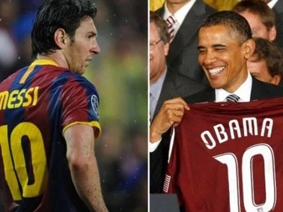 Barack Obama reveals his daughters wants to meet Lionel Messi
