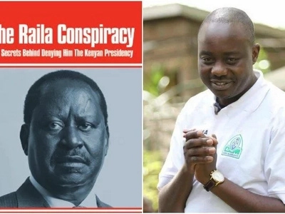 "Details of Fidel Odinga meeting that gave birth to controversial book ""The Raila Conspiracy"""