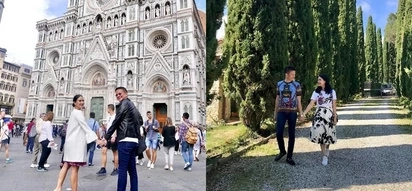 Heart and Chiz Escudero spends Holy Week being lovey dovey while traveling throughout Italy