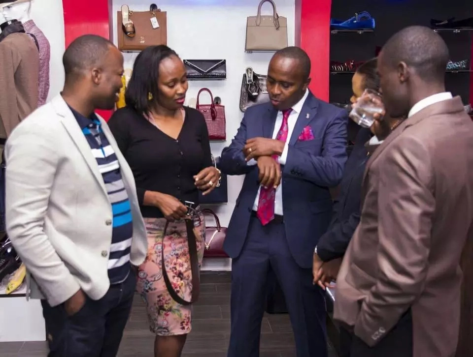 Kenya's youngest MP gets wardrobe make-over from Uhuru's stylist (Photos)