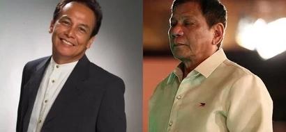 Fearless Jim Paredes sarcastically calls President Duterte a