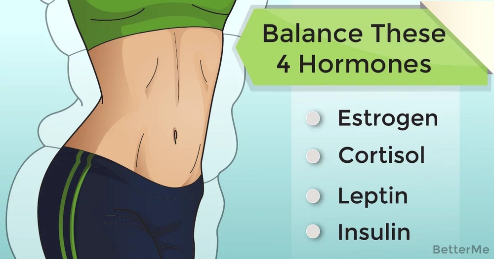 4 hormones to get in check if you want to shed pounds