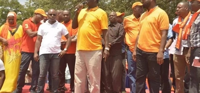Video of Raila calling Ruto a thief while addressing Mombasa residents