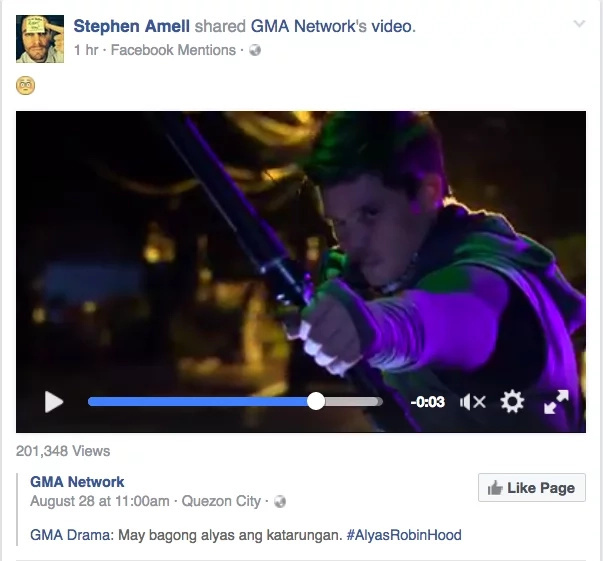Fans sees 'Alyas Robin Hood'-'Arrow' similarities