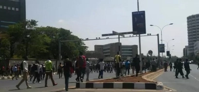 VIDEO: Police Arrest 10 Students Linking To Nairobi Protests