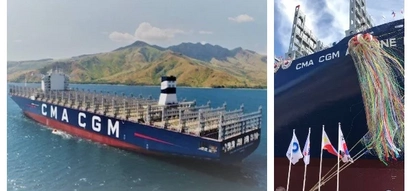 100% Pinoy! One of the world's biggest commercial ship is proudly made in the Philippines