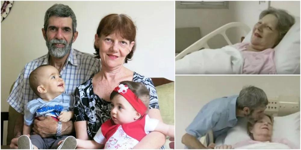 Con 61 años esta mujer dio a luz a un par de mellizos, nadie en el hospital lo podía creer