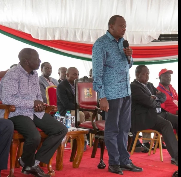 Uhuruto's tour to ODM strongolds marred by widespread confusion, details