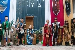 This one's really magical! Netizen shares photos of Encantadia inspired pageant in Manila