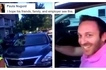 American driver caught on video making racist remark against Filipina bicyclist! Galit na galit tuloy ang Pinay!