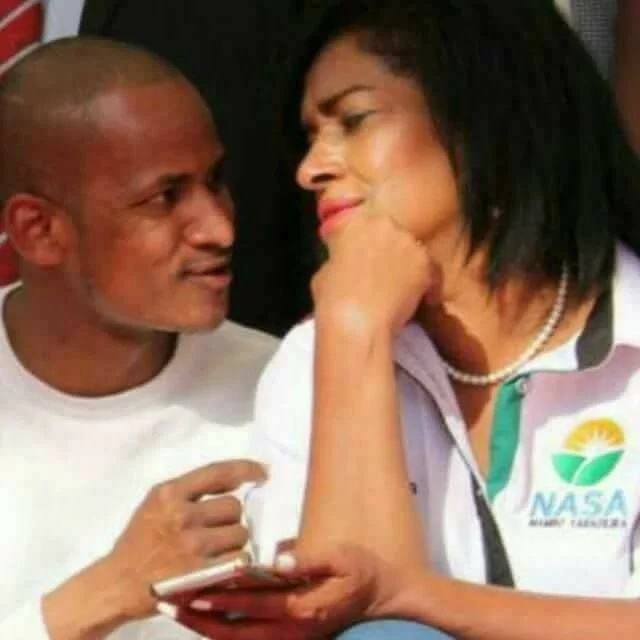 Image result for babu owino and esther passaris