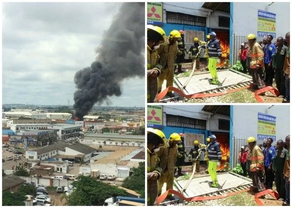 Sign from above? Bible society razed to the ground by CONFLAGRATION (photos)