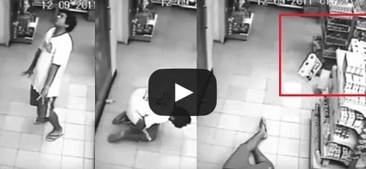 Footage of man «possessed by ghost» in store will make you believe in supernatural