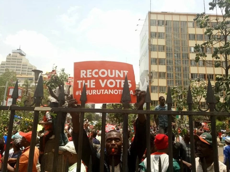 Kenya court: election board refused to give access to servers