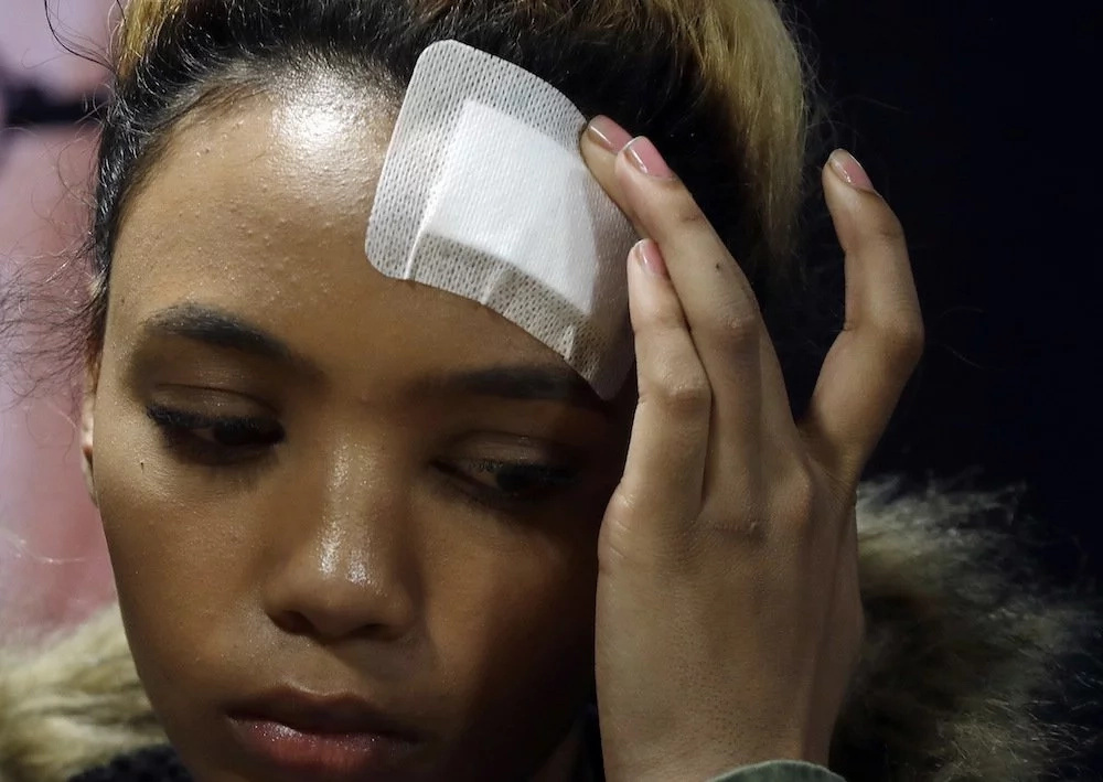 Gabriella Engels claimed Grace Mugabe assaulted her. Photo: AP