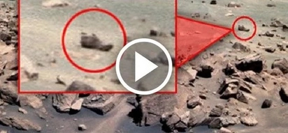 Shoe on Mars is an evidence life there once existed?