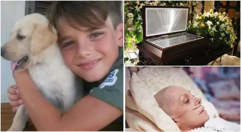 Su mamá tenía cáncer. Él decidió suicidarse dejando una desgarradora carta