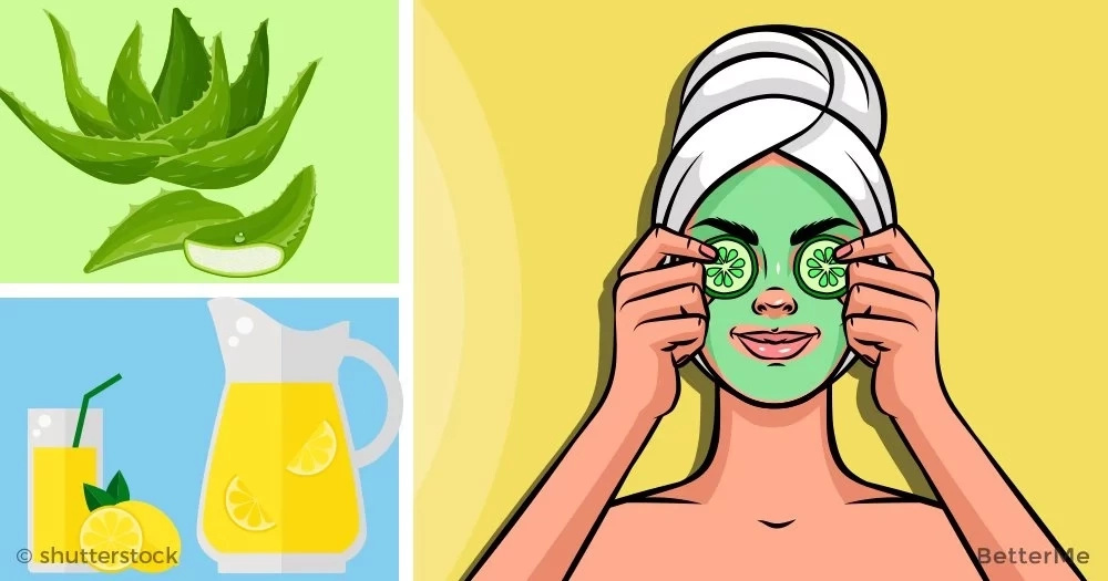 6 natural recipes can effectively solve your oily skin problem