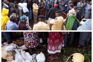 Mapepo sugu WANG'OLEWA katika ngome ya Uhuru na mchungaji kutoa maelezo (picha)