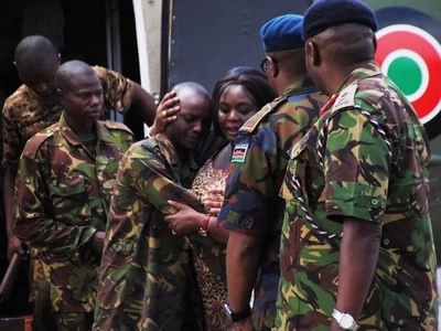 PAINFUL message KDF soldier left before his death in Somalia