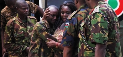Former Israeli deputy ambassador releases touching video for KDF soldiers