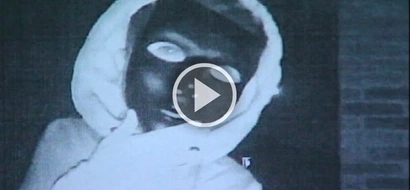 Creepy masked prowler caught on camera terrorizing families in the night