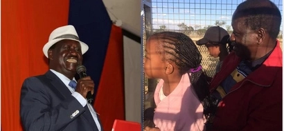 Raila shares photo of his daughter after she underwent surgery in South Africa