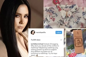 Mariel Slams Netizens Who Criticized her for Spending Too Much On Her Baby's Clothes