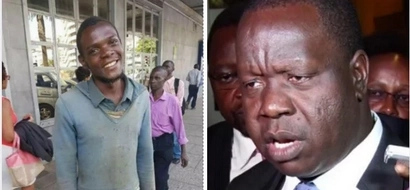 The academic history of street urchin who returned stranger's KSh 200k will even shock Matiang'i