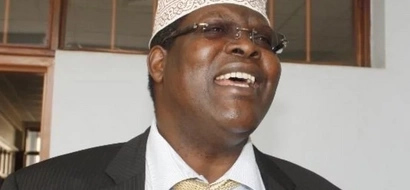 Former Raila aide Miguna Miguna BRAGS about his relationship with Donald Trump