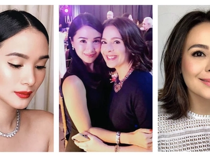 Heart Evangelista fangirls after meeting Dawn Zulueta