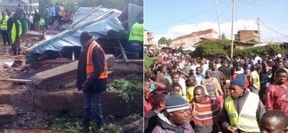Seven confirmed dead after building collapsed in Kisii