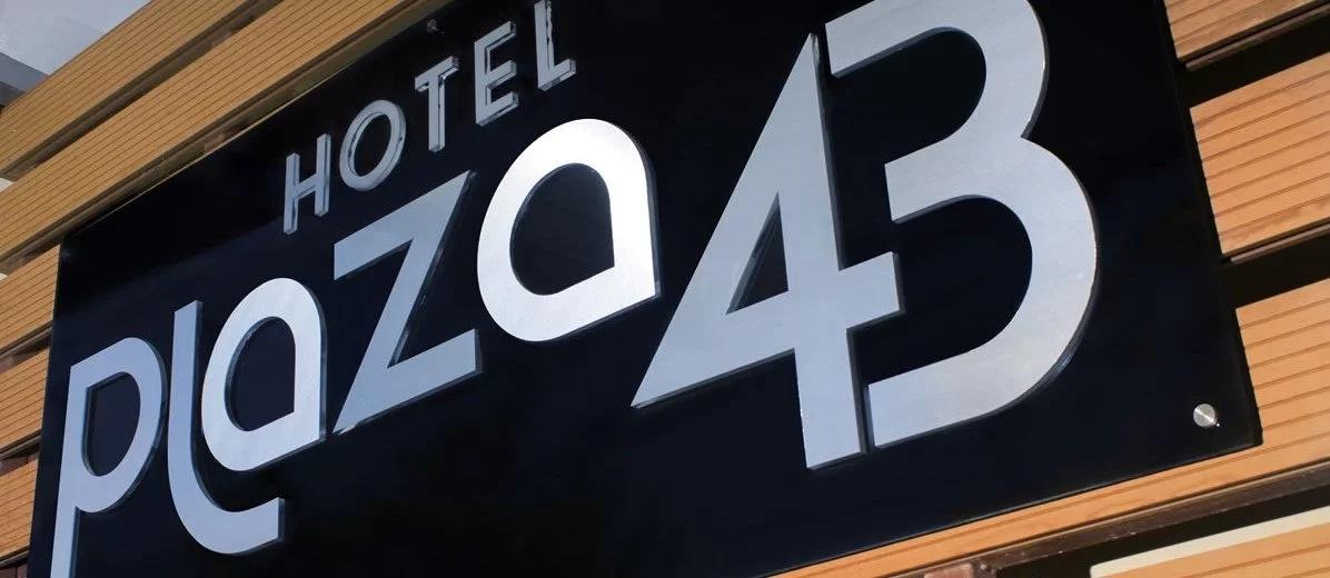 Fotografía: Hotel Plaza 43