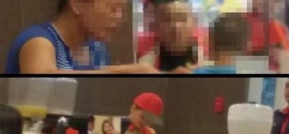 Kindhearted Jollibee crew makes a surprise for a poor woman who was eating leftovers