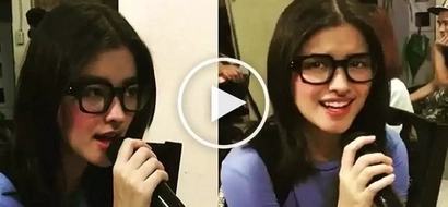 At least nag-try siya! Humble Liza Soberano struggles to hit high notes of 'You' while singing karaoke