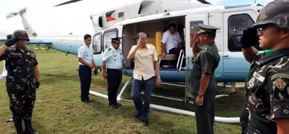 PNoy thanks 250th Presidential Airlift Wing for service and dedication