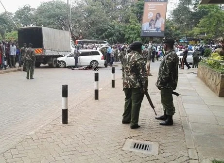 Police gun down suspected robbers in Westlands