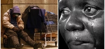 Woman lived on the street for 10 years, people called her crazy (photos, video)