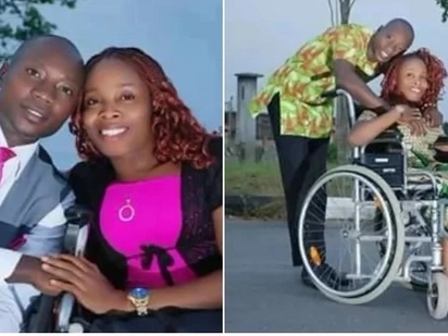 Physically challenged member of church releases impossibly cute pre-wedding pictures with her fiance