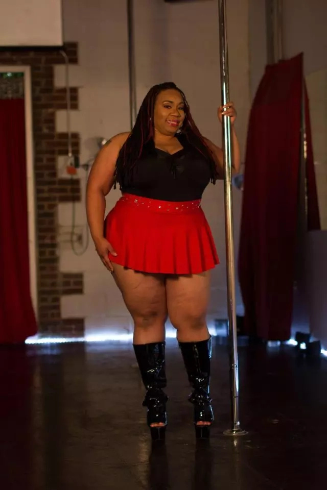 Meet 36-year-old plus-size pole dance whose dancing skills are leaving everyone stunned (photos)
