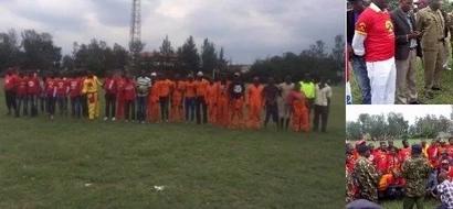 Kundi la wafuasi wa ODM na Jubilee lachukua hatua isiyotarajiwa na ya kijasiri kuimarisha amani (picha)