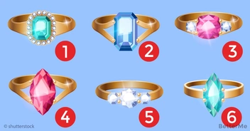 Choose the ring you like most and we will tell you about your personality
