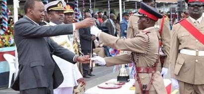 President Uhuru Ushers In Cadet Graduands, Here Are Photos