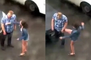 WATCH! Violence against men - find out how this lovers quarrel ended