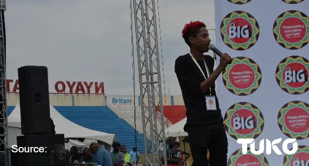 In Pictures: It's Big Pambazuka National Lottery launch at the Nyayo National stadium